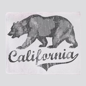 California Bear Throw Blanket