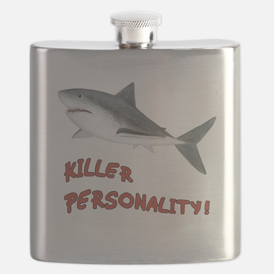 Killer Personality - Shark Flask