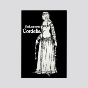 Shakespeare's Cordelia Rectangle Magnet