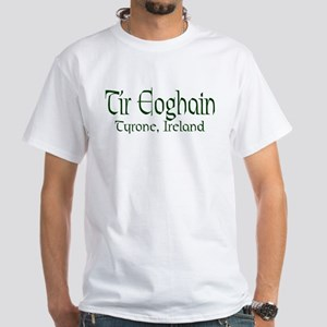 County Tyrone (Gaelic) White T-Shirt