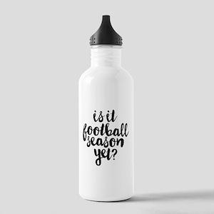 Is It Football Season Stainless Water Bottle 1.0L