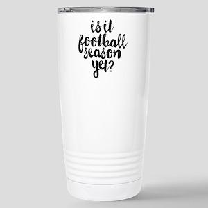 Is It Football Se 16 oz Stainless Steel Travel Mug