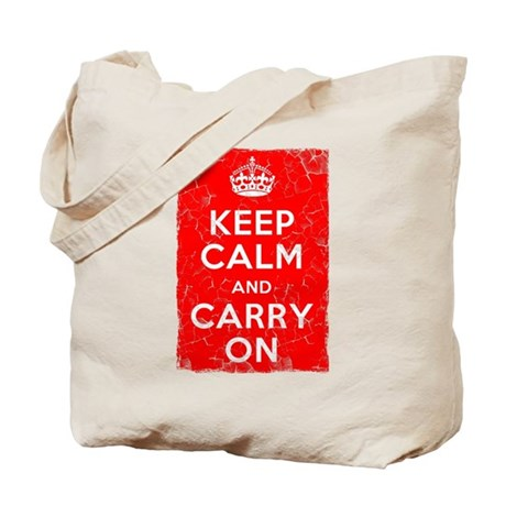 Keep Calm, Vintage, Tote Bag