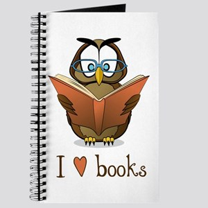 Book Owl I Love Books Journal
