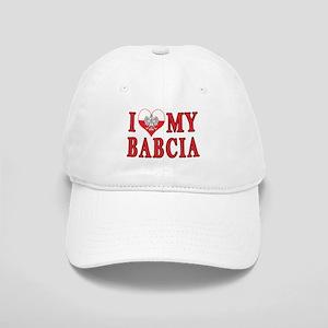 I Heart My Babcia Cap