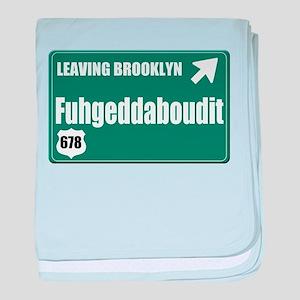 Brooklyn baby blanket