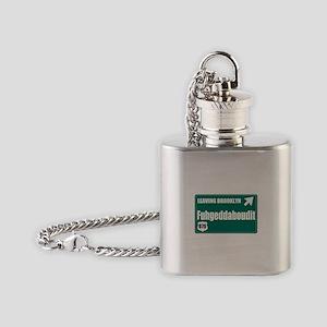 Brooklyn Flask Necklace