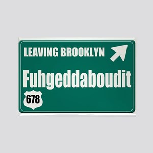 Brooklyn Rectangle Magnet