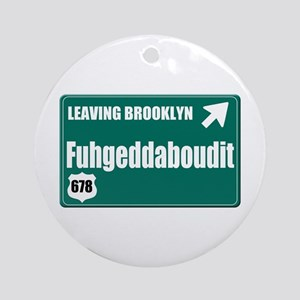 Brooklyn Ornament (Round)