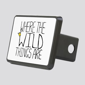 'Wild Things' Rectangular Hitch Cover