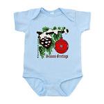 Christmas Tree Red Ball Infant Bodysuit