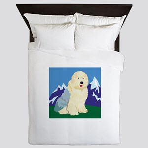 old-english-sheep,png Queen Duvet