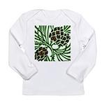 Christmas Pine Cone Long Sleeve Infant T-Shirt