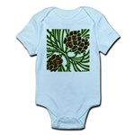 Christmas Pine Cone Infant Bodysuit