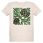 Christmas Pine Cone Organic Kids T-Shirt