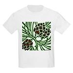 Christmas Pine Cone Kids Light T-Shirt