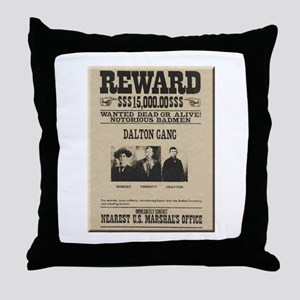 The Dalton Gang Throw Pillow