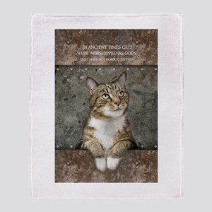 Ancient Cat Throw Blanket