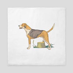 american-foxhound Queen Duvet