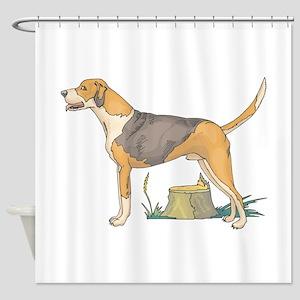 american-foxhound Shower Curtain