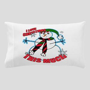 I love christmas Pillow Case