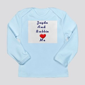 Zeidy and Bubbie Love Me Long Sleeve Infant T-Shir