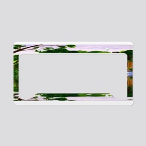 Time Past License Plate Holder