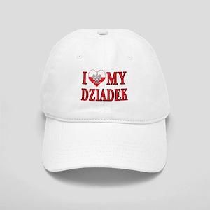 I Heart My Dziadek Cap