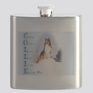 Rough Collie Flask