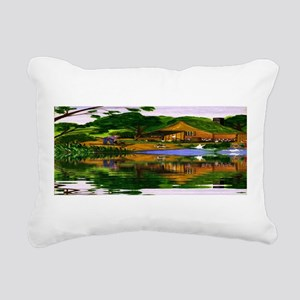 Time Past Rectangular Canvas Pillow