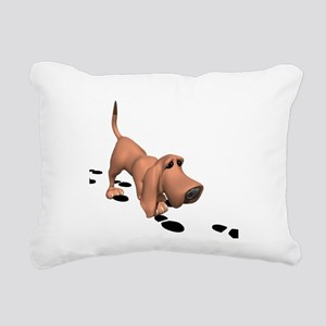 bloodhound Rectangular Canvas Pillow