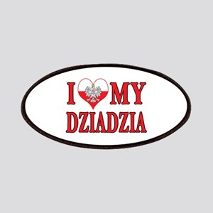 I Heart My Dziadzia Patches