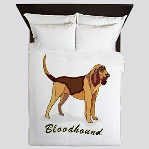 bloodhound1,png Queen Duvet