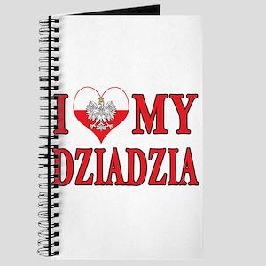 I Heart My Dziadzia Journal