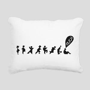 TangramsSM Rectangular Canvas Pillow