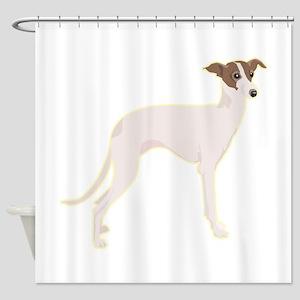 italian-greyhound,png Shower Curtain