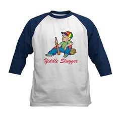 Yiddle Slugger Yidddish Kids Baseball Jersey