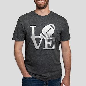 Love Football Mens Tri-blend T-Shirt