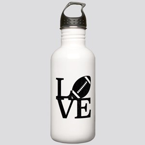 Love Football Stainless Water Bottle 1.0L