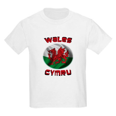 Wales Cymru Kids Light T-Shirt