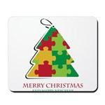 Merry Christmas and Happy New Year Mousepad