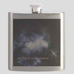 Starship of the Imagination Flask