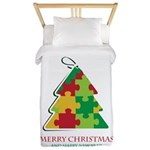 Merry Christmas and Happy New Year Twin Duvet