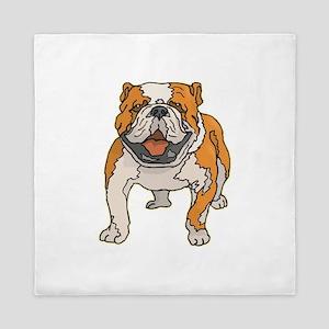 english-bulldog2 Queen Duvet