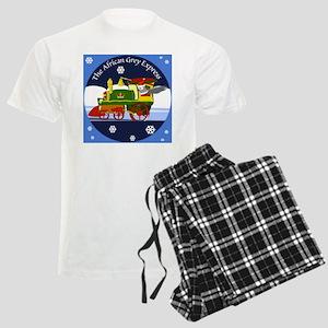 African Grey Express Men's Light Pajamas