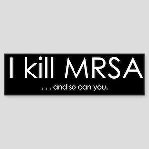 I kill MRSA Sticker (Bumper)