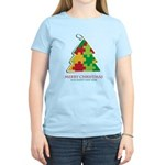 Merry Christmas and Happy New Year Women's Light T