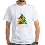 Merry Christmas and Happy New Year White T-Shirt