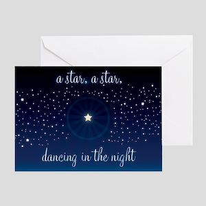 Starry Night Greeting Card