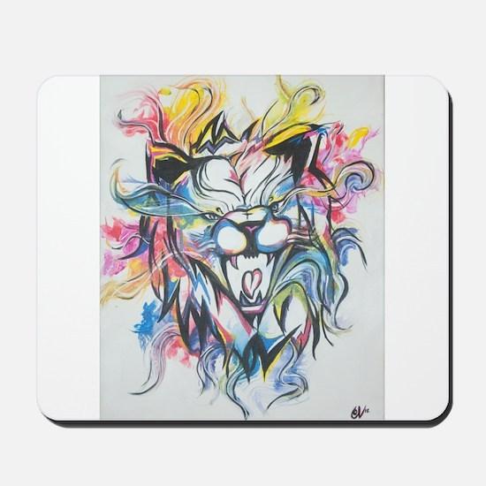 Wild Lion Mousepad
